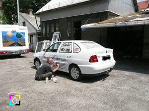 Autódekoráció készítés